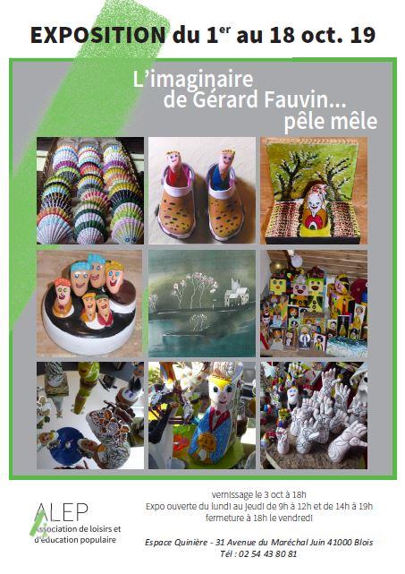 L'IMAGINAIRE DE GERARD FAUVIN… PÊLE-MÊLE