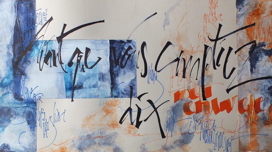 Journal calligraphique n°3 – Avant que vous comptiez dix de Rainer Maria Rilke