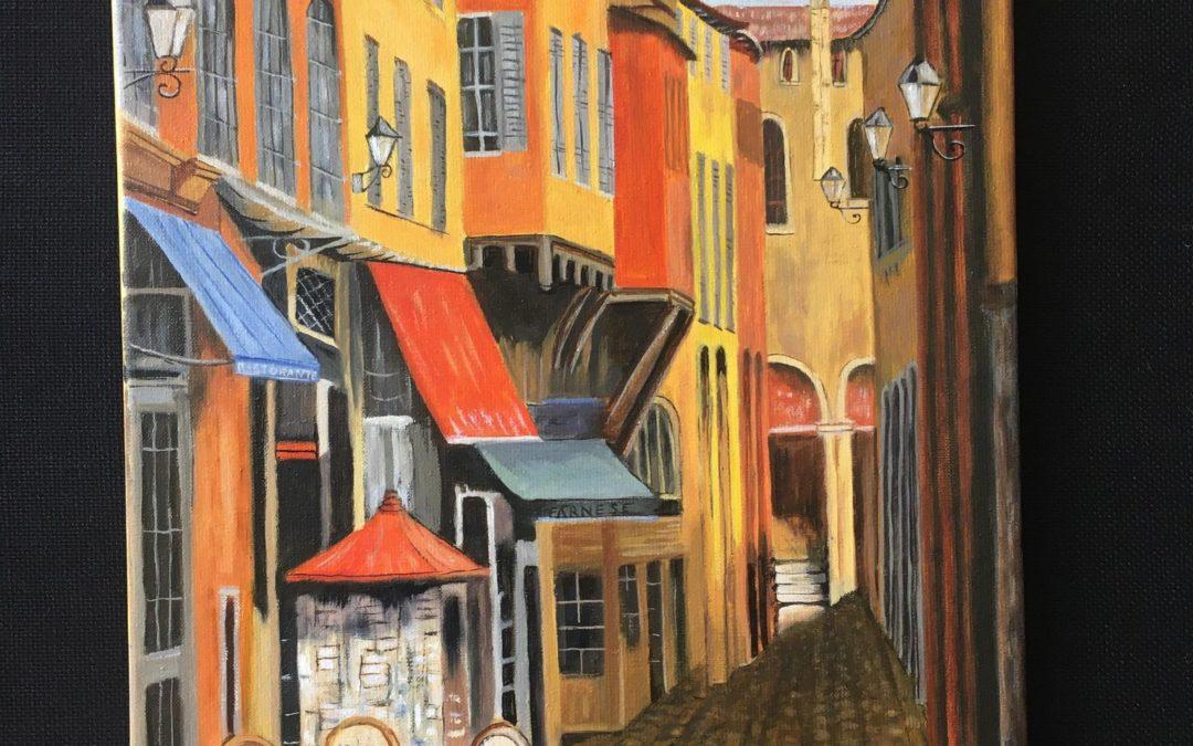 Exposition des peintures des adhérent·es de l'ALEP… en ligne